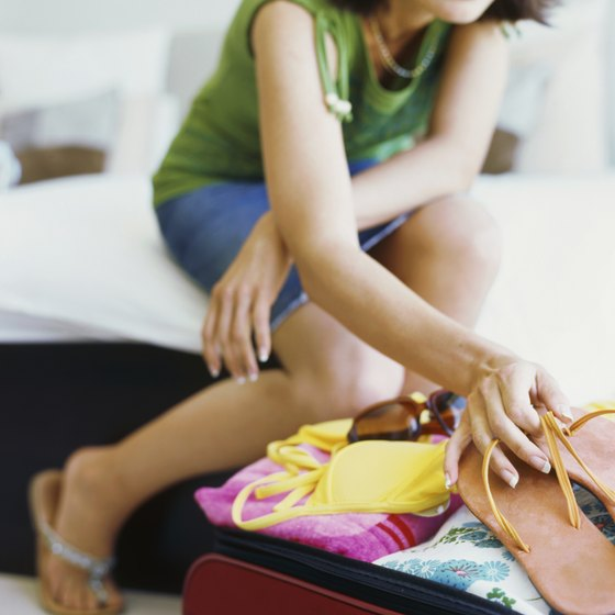 Cramming too many items in your suitcase will wrinkle your clothes.