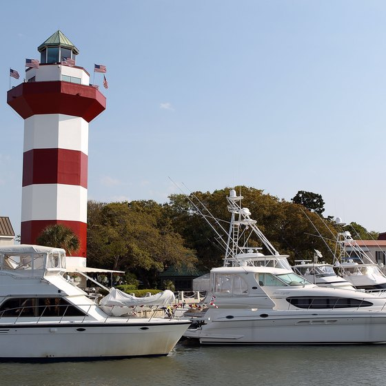 Hilton Head Island's iconic lighthouse lies inside Sea Pines Resort.