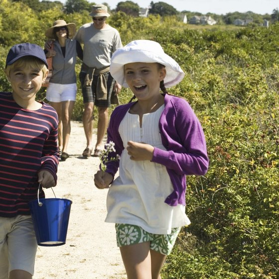 Maine's beaches welcome families on a northeastern getaway.