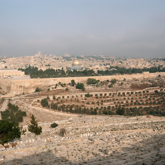 After you've taken in the ancient sights of Egypt, head to Israel to continue your time-travel.