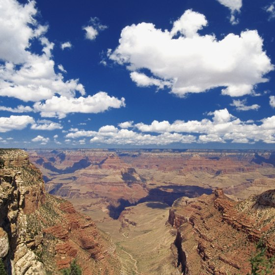 Grand Canyon Airport is just seven miles from Grand Canyon's South Rim.