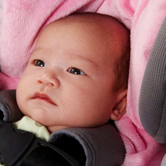 Protect your child's car seat from damage before checking it in.