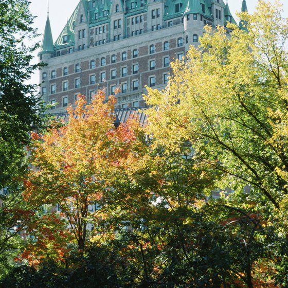 Quebec city parks turn colorful and are easy to explore on leaf-peeping excursions.