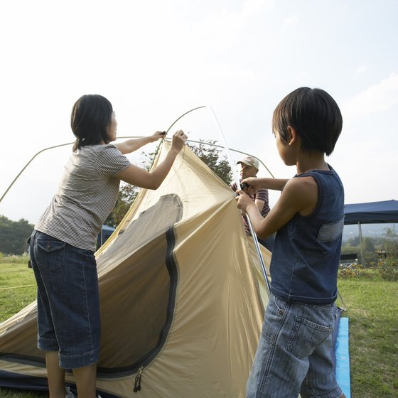 Campgrounds in the Norwalk area allow tenting.