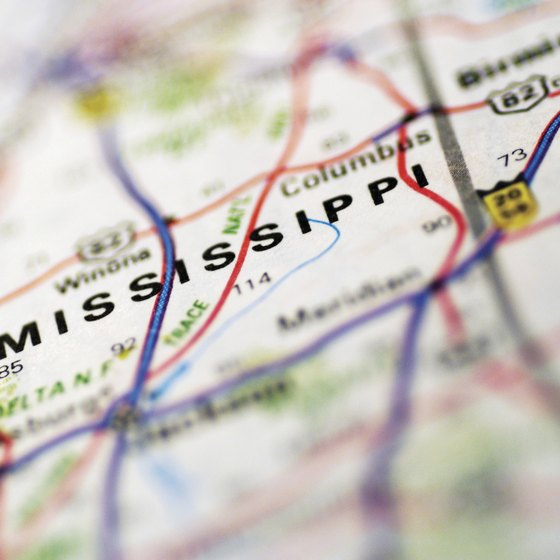 Mississippi is centrally located to several airports.