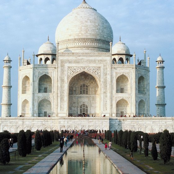 "While the word ""mahal"" refers to grand palaces, the Taj Mahal is actually a mausoleum."