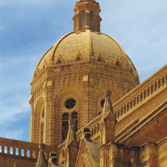 Gozo has a number of architecturally stunning churches.