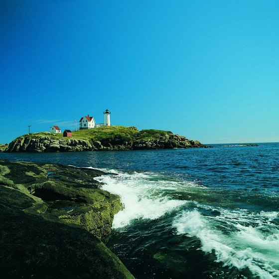 The Lighting of the Nubble Lighthouse is one of the many festivals held in York County, Maine.