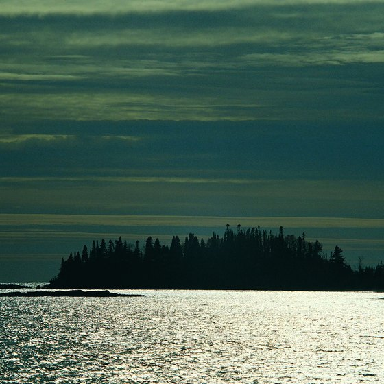 Grand Portage, Minnesota is one of the departure points for trips to Isle Royale.