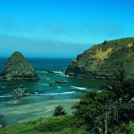 Coast near Brookings, Oregon