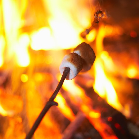 The festival features a marshmallow roast on opening night.