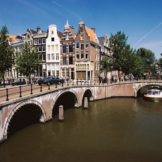 Hotels with a canal view tend to be more expensive.