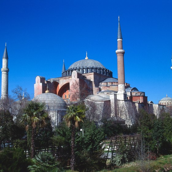 The Yeni Valide Mosque is one of Istanbul's countless tourist attractions.