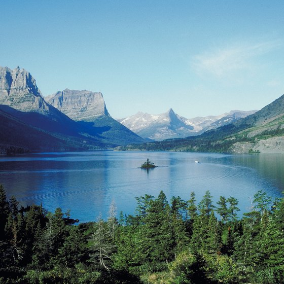 Glacier National Park was the 10th national park established in the United States.