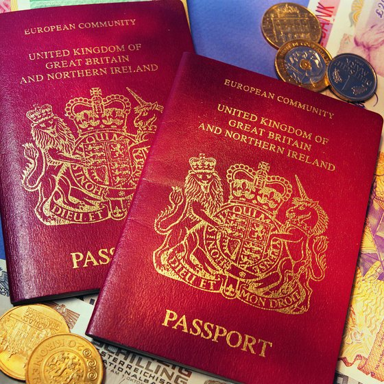 British passports are valid for 10 years.