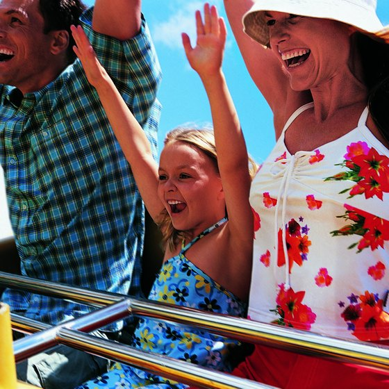 Families can enjoy the thrills offered by roller coasters while at Dollywood.