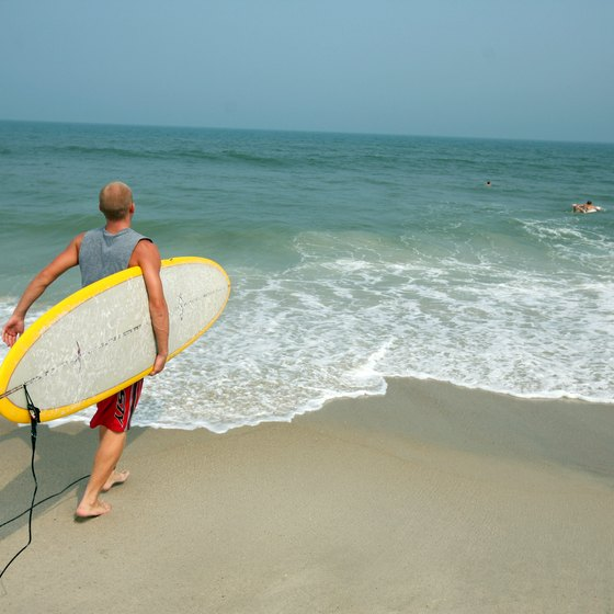 North Carolina beaches include some of the best surfing spots on the East Coast.