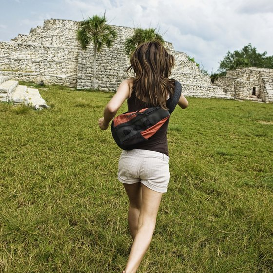 The ruins of Tulum are some of the most-visited ruins in the country.