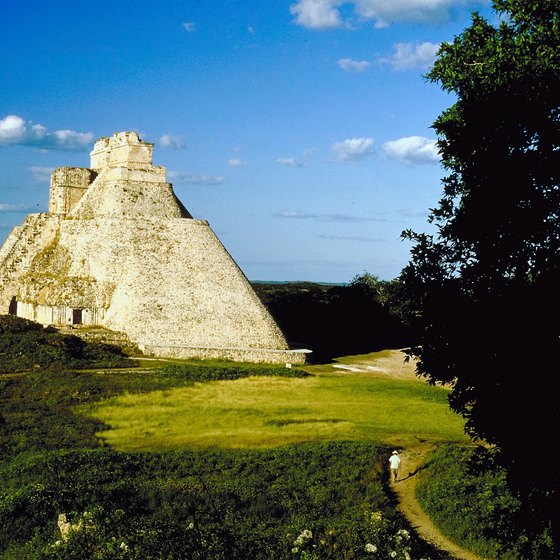 The Mayan city of Uxmal, a UNESCO World Heritage Site.