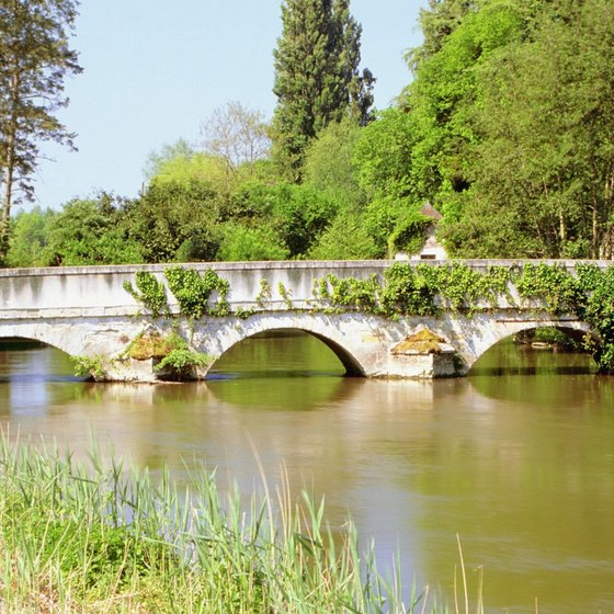 The handsome countryside makes the Loire region a popular tourist destination.