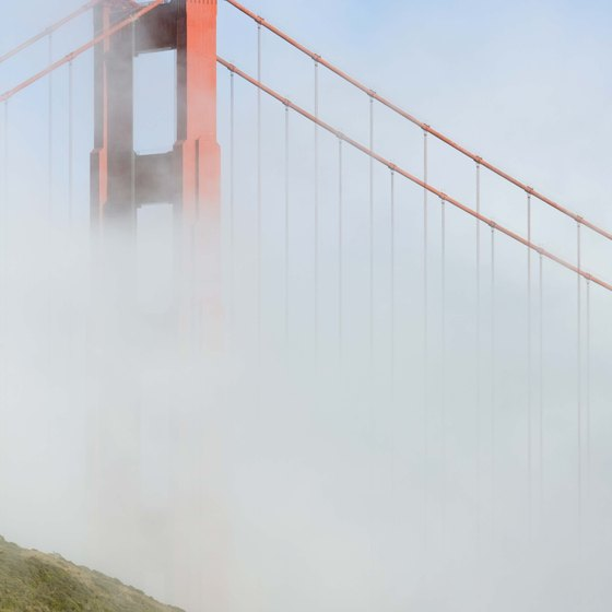 The Golden Gate Bridge is one of the city's most iconic images.