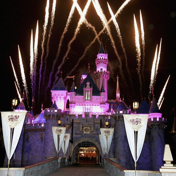 End your first Disneyland visit with an impressive fireworks show.