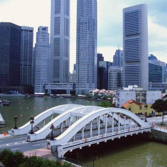 Singapore is a high-tech metropolis with modern hotels and safe environments for children.