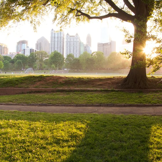 Numerous Atlanta festivals are in Piedmont Park.