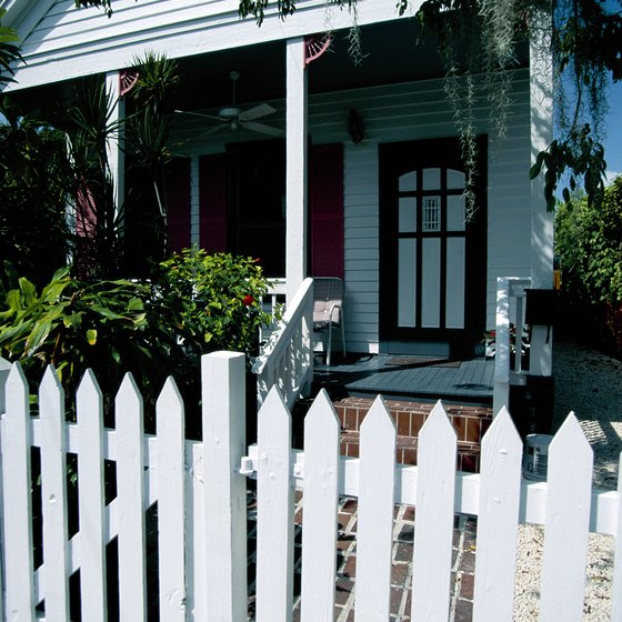 Some Floridian homes pay homage to the Civil War era.