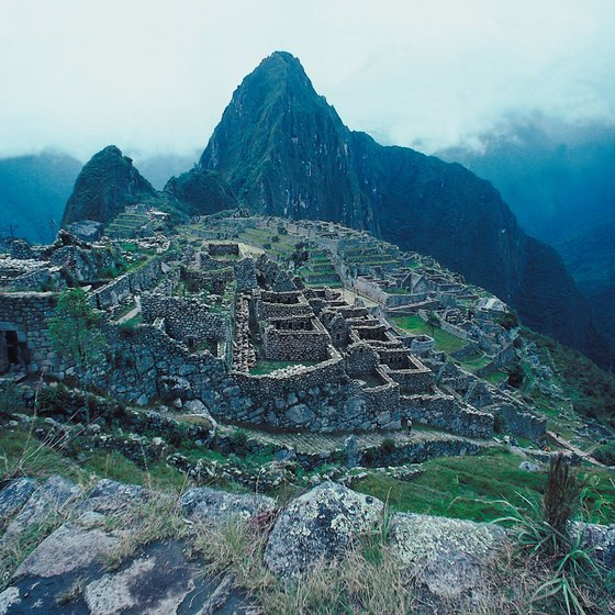 Visiting sites such as Peru's Machu Picchu can require advance tour booking.