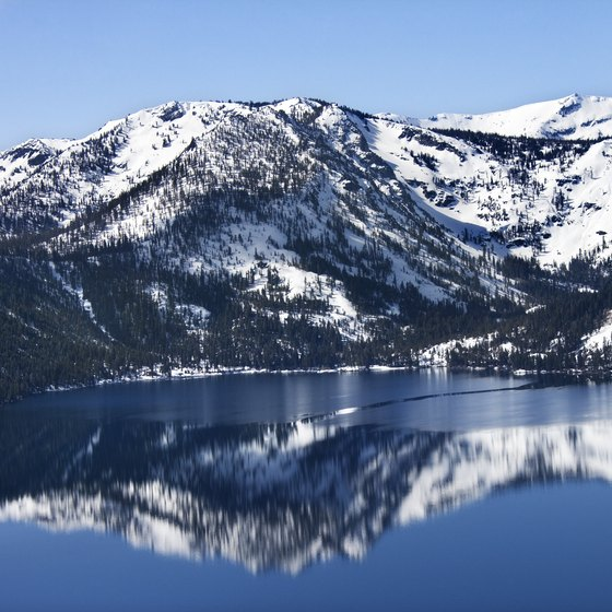 Lake Tahoe is a popular destination in all seasons.