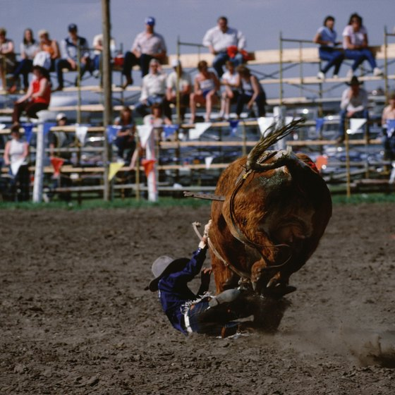 Ellensburg hosts a rodeo each September.