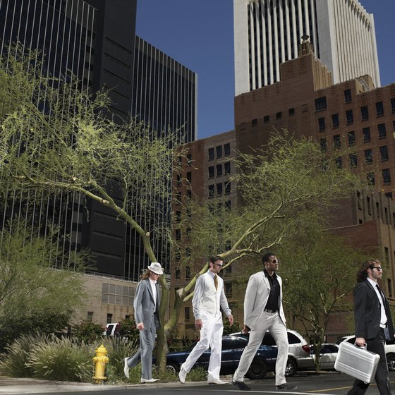 Downtown Phoenix hosts museums, sports stadiums, shopping and restaurants.