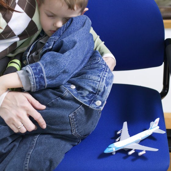 Help your toddler sleep on plane trips with preparation.