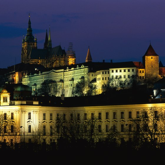 Prague Castle reveals the city's historic past.