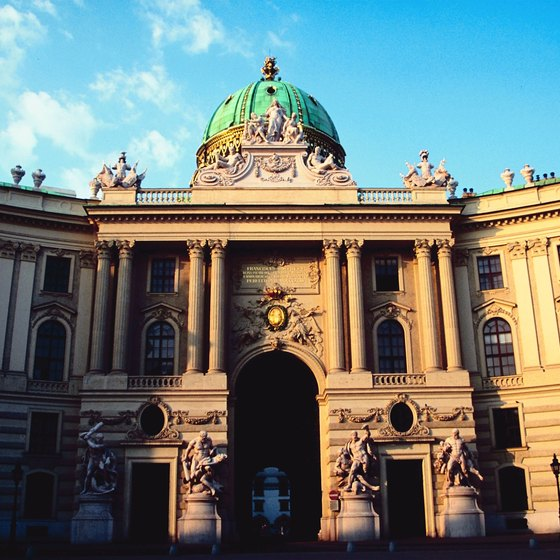 The Vienna Hofburg was the Austrian royal family's palace in Vienna.
