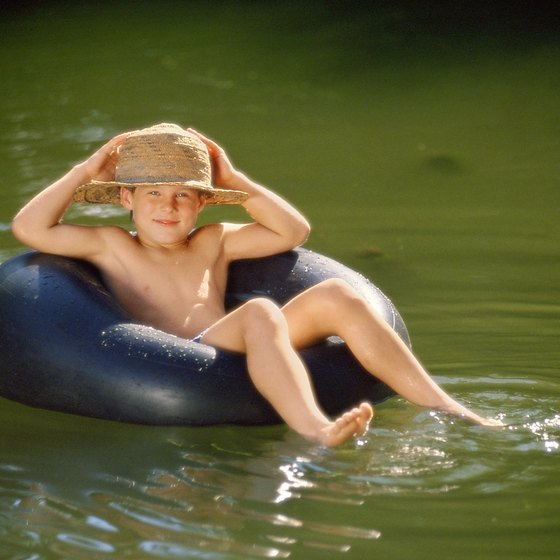 Beat the heat with a slow float down the Brandywine.