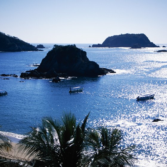 Cruise to unspoiled territory of Huatulco.