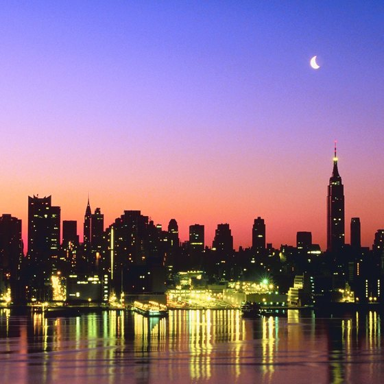 New York City attracts millions of tourists each year.
