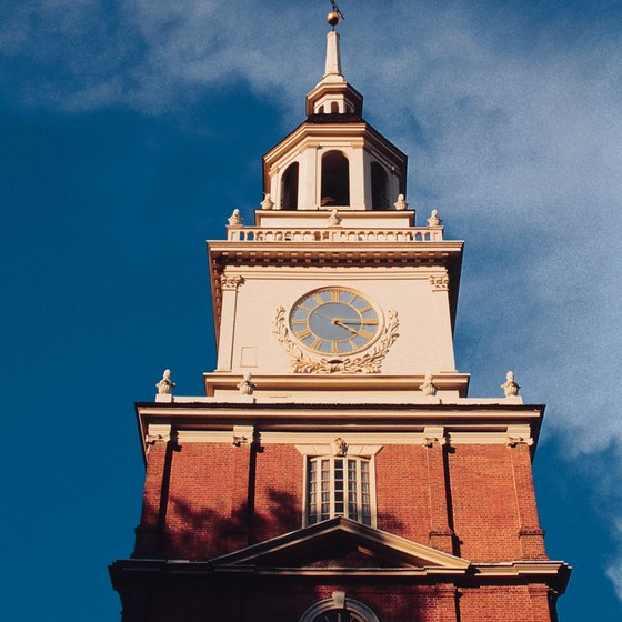 Vacationers should put Independence Hall in downtown Philadelphia on their itinerary.