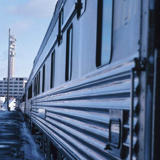Canada's rail system stretches from coast to coast.
