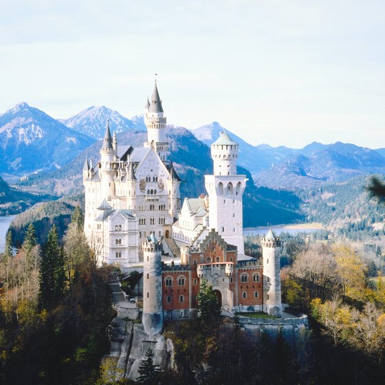 Ludwig II's Neuschwanstein Castle inspired Cinderella's Castle at Walt Disney World.