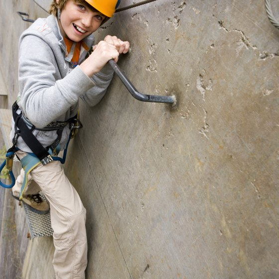 Rock climbing develops the strength and dexterity of the climber.