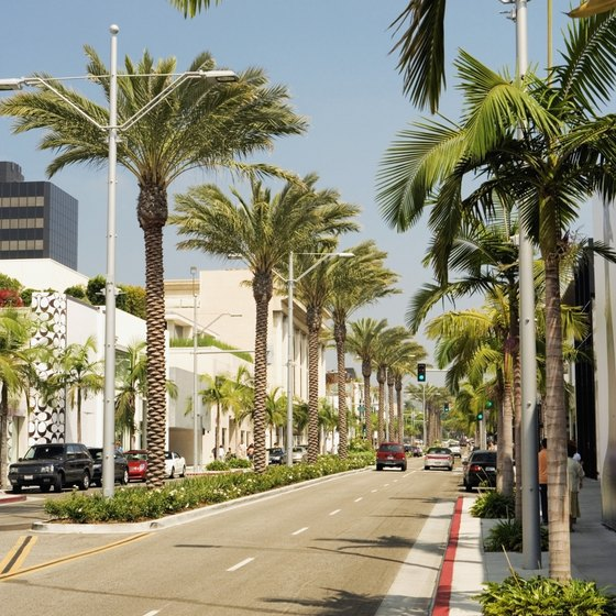 Beverly Hills in Los Angeles County boasts some five-star hotels.