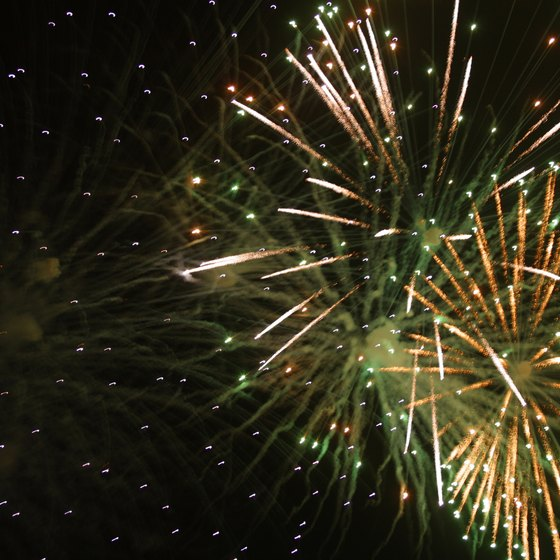 Fireworks fans enjoy displays several times a year in and around Macon.