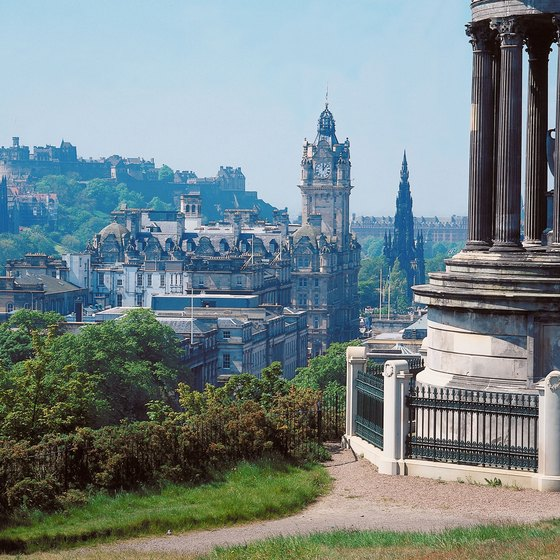 The top of Leith Walk is a 10-minute walk from Calton Hill.