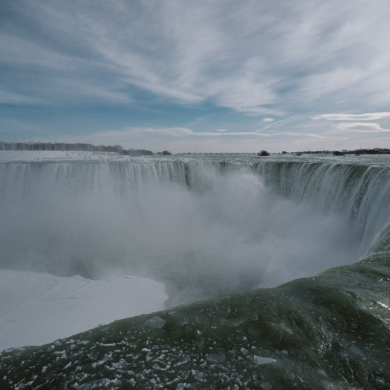 Niagara Falls is the second largest waterfall in the world.