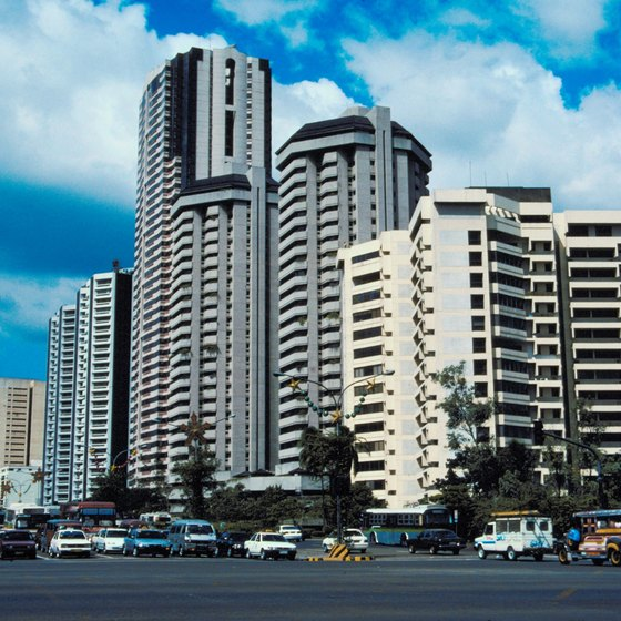 Manila is a large, vibrant city.