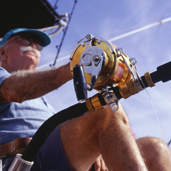 Fishing charters provide the boats and all of the professional equipment for an exciting day of deep-sea fishing.