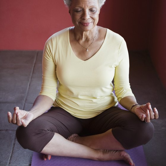 Many senior centers in Morris County offer yoga classes.